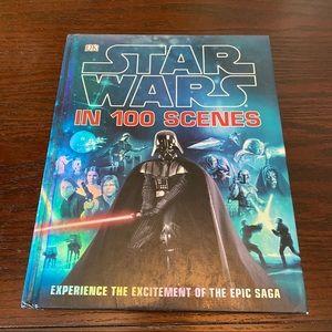 Star Wars in 100 Scenes Pictorial Book As Is